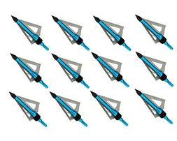 Sososhoot Killer Points Fixed 3 Blades Broadhead  Compatible