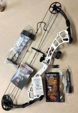 "PSE Stinger Extreme RTS Compound Bow Package 29"" 70# WHITE 1"