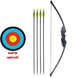 PG1ARCHERY Takedown Bow and Arrow Set, Archery Game Sports P