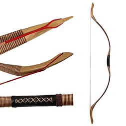Huntingdoor Traditional Longbow Hunting Bow Recurve Bow 30-5