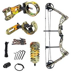 iGlow 30-55 lbs Tree Camouflage Camo Archery Hunting Compoun