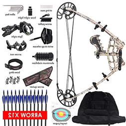 XGeek Triangle Compound Bow for Adults - Right & Left Hand H