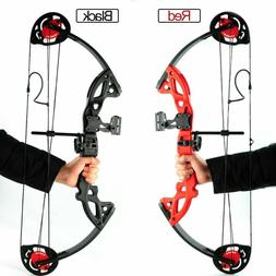 """US Compound Bow Set with Arrows 15-29Lbs 19""""-28"""" Teens Fit A"""