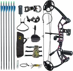 US M2 Muddy Girl Youth Compound Bow Set For Beginners Adoles