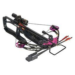 PSE Vector 310 Black with Purple Accents Crossbow Package 01
