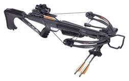 "CenterPoint VOLT Compound Crossbow with 3x20"" Carbon Arrows,"