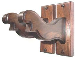 Walnut Wooden Bow Rack Hangers Compound or Recurve Archery W