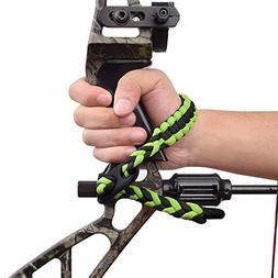 Compound Bow Wrist Sling Adjustable with Pu Leather Hunting
