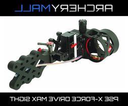 PSE X-Force Drive Max 4 Pin Bow Sight Black REG: $199.99