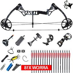 XQMART XGeek Archery Compound Hunting Bow Package & Accessor