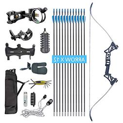 XQMART XGeek Archery Takedown Recurve Bow Package R3 Ready T