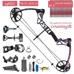 XQMART XGeek Compound Bow Packages for Women and Adults,Righ