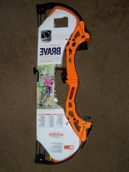 Bear Archery Youth Brave Compound Bow & Arrows Set ~ LAST ON